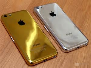 Iphone Handmade - custom gold and silver iphone 5c appears in japan