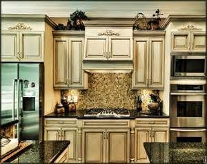 Brown Painted Bathroom Cabinets Cream Glazed Kitchen Cabinets Pictures Home Design Ideas