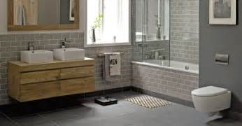 Alternative To Tiles In Bathroom Walls Bathroom Styling Ideas Green Grey And Wood With White