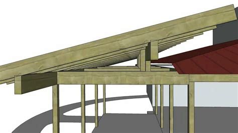tree sheds adding a shed roof to an existing roof