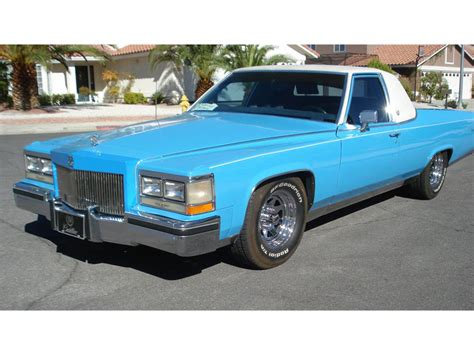 1987 Cadillac Brougham For Sale by 1987 Cadillac Brougham Sedan For Sale 48 Used Cars From 1 600