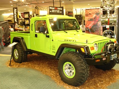 brute jeep jeep brute at auto show jeep enthusiast