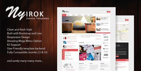 themeforest free bootstrap themes pajuh clean and responsive virtuemart templates by