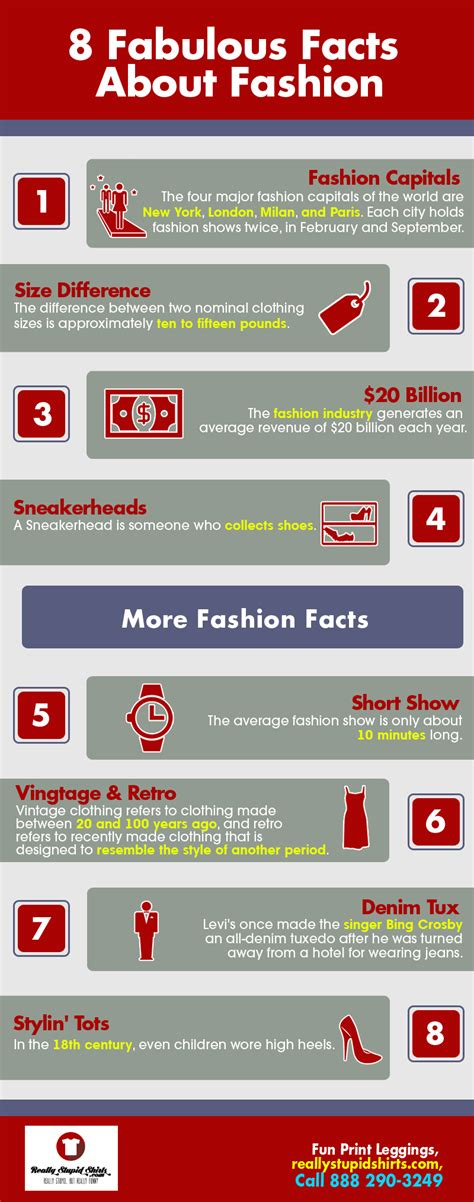 random facts about 2017 what makes 2017 a year to remember books 8 fabulous facts about fashion shared info graphics