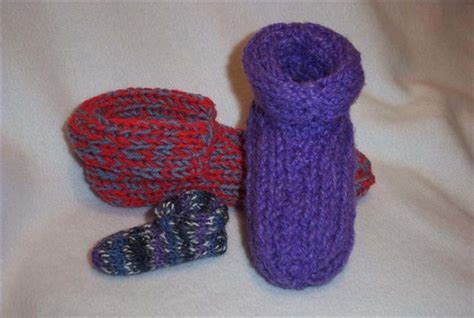 easy knitted slippers free pattern made to fit knit slippers favecrafts