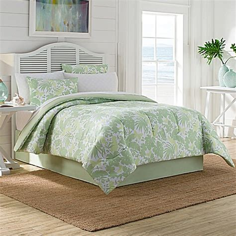 graphic comforters pop graphic comforter set in green bed bath beyond