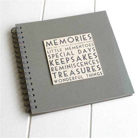 memory picture book memories book album by posh totty designs interiors