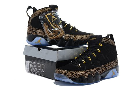 buy nike air 9 shoes s new style black gold