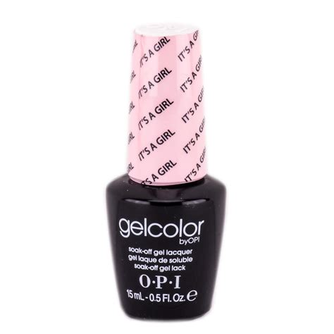 opi gel nail colors gelcolor by opi soak gel lacquer nail it s a