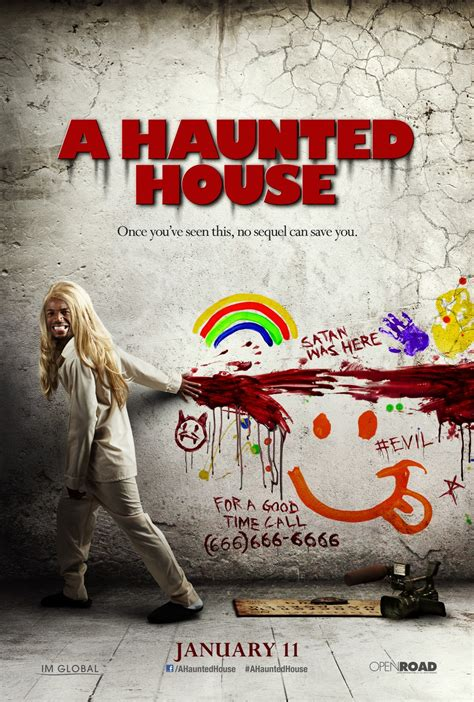 A Haunted House by A Quot Sinister Quot Spoof Of A Haunted House Poster