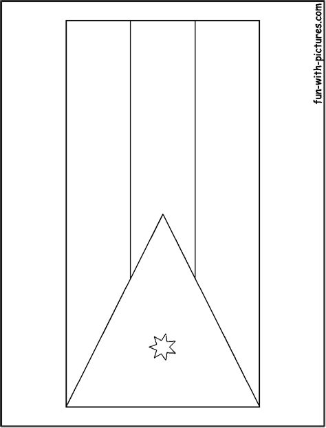 jordan flag free coloring pages
