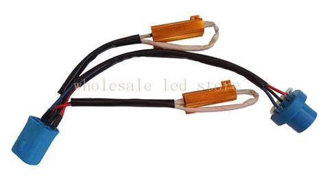 how to install warning canceller capacitor 1pcs 9004 9007 canbus hid xenon relay warning error decoder canceller capacitor wiring harness