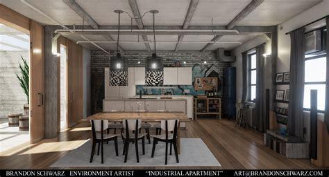 industrial apartment brandon schwarz modern industrial apartment