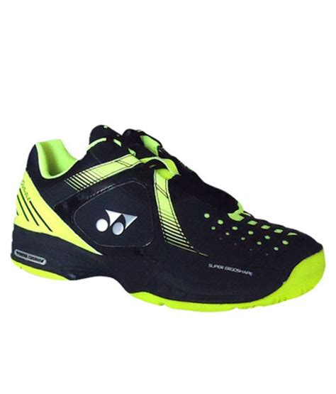 yonex sport shoes yonex black green sht power cushion sports shoes price
