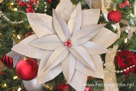 paper poinsettia flower tutorial diy christmas tree poinsettias pictured tutorial