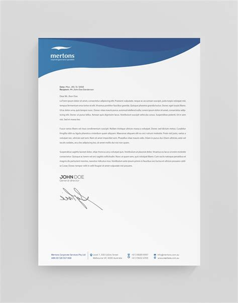 document layout design ideas 27 professional software letterhead designs for a software