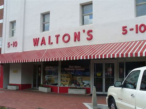 sam walton s first five and dime store in bentonville lessons to learn from the frugal walmart family