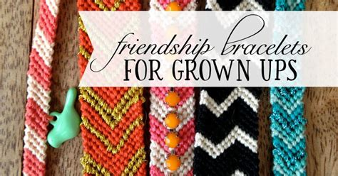 Friendship Bracelets for Grown Ups (DIY Tutorial)   Good and Simple