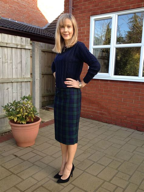 the beautiful in tartan ultimate pencil skirt