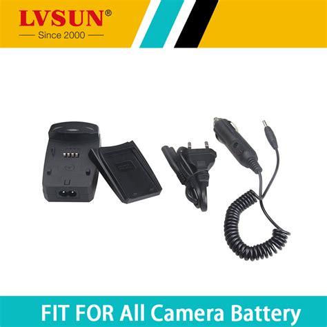 Universal Charger Baterai Kamera Canon Nikon lvsun universal battery charger with car adapter