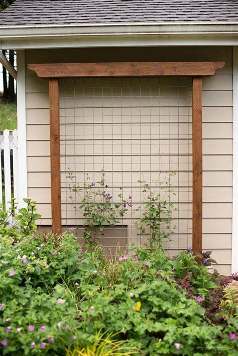 Garden Trellis Ideas Diy Garden Trellis Ideas