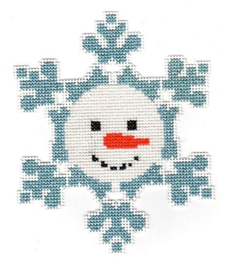 snowflake pattern snowman cross stitch snowman christmas pinterest