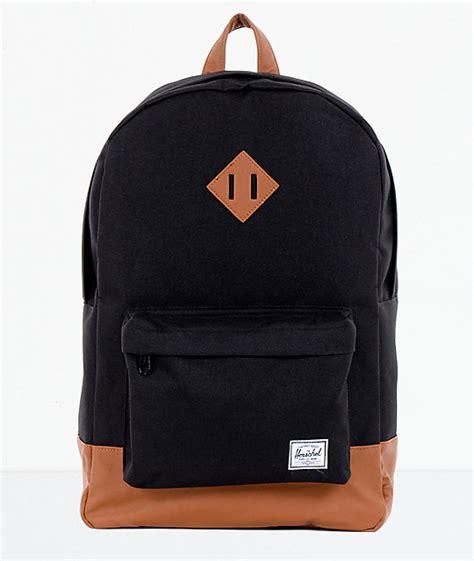 Backpack Herschel herschel supply heritage black backpack