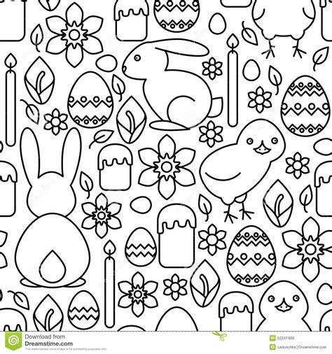 html pattern symbols seamless pattern of easter symbols cartoon vector