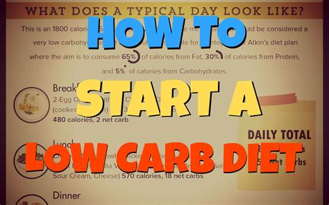 5 Reasons To Start A Low Carbohydrate Diet by How To Start A Low Carb Diet Lowcarbdieting Org