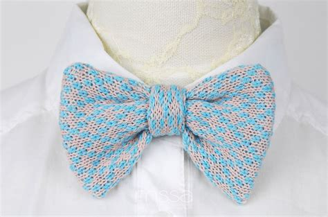 knitted bow pattern free knitted bow tie in pattern on luulla