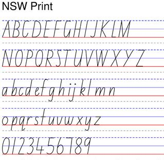 nsw handwriting printable worksheets startwrite handwriting worsheet wizard