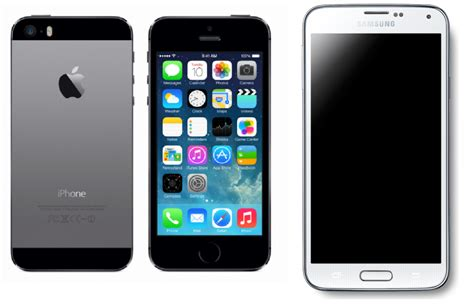 mobile phone s5 iphone 5s vs samsung galaxy s5 comparison and review