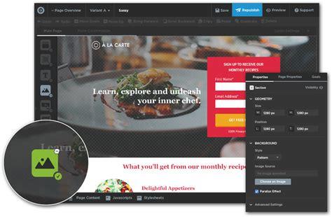mobile landing page builder mobile responsive landing page builder conversion platform