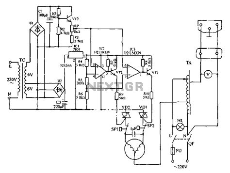 Ac Automatic Voltage Regulator generator automatic voltage regulator circuit diagram