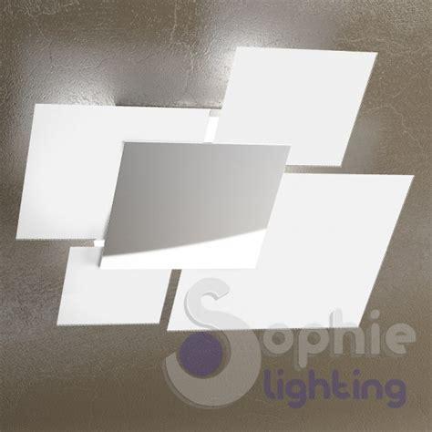 soffitto moderno plafone lada soffitto design moderno cromo bianco vetri
