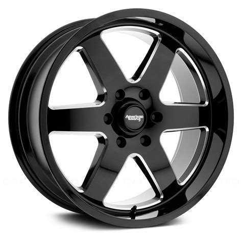 with wheels american racing 174 ar927 wheels gloss black with milled