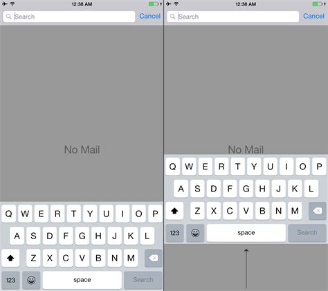 iphone 6 plus keyboard needs to move up dougit design