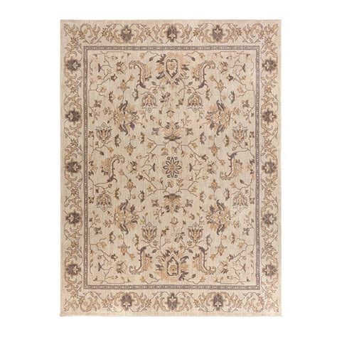Home Decorators Collection Jackson Beige 8 Ft X 10 Ft Rugs Home Depot