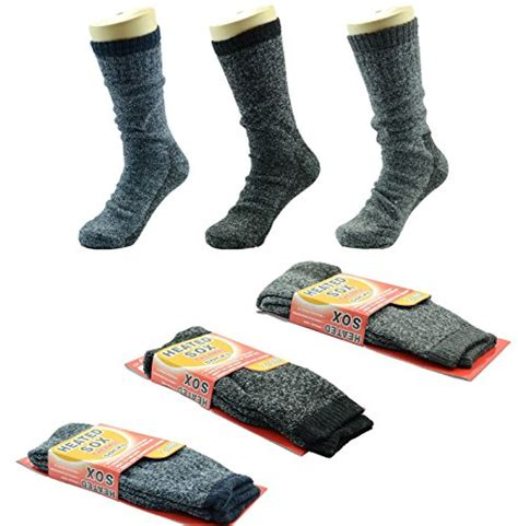 Orso Thermal Sport Socks 2pairs 3 pairs heated sox thermal winter heavy duty crew socks mega thermo 2 3 tog fashion
