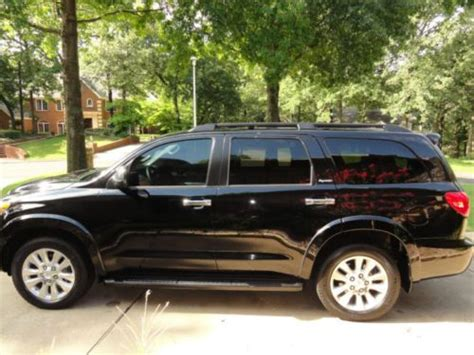 Toyota Sequoia 2008 For Sale Sell Used 2008 Toyota Sequoia Platinum 4x4 In Tulsa