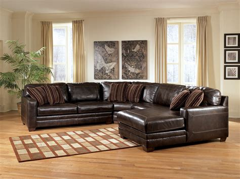 ashley furniture brown leather sectional the furniture review our top 5 ashley furniture leather