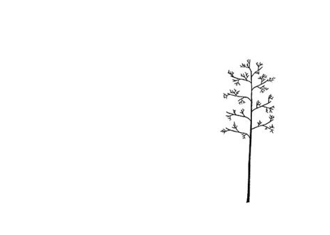 minimalist art print tree line drawing the winter s