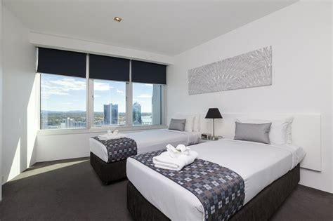 2 bedroom apartments in gold coast q1 resort s two bedroom spa apartment gold coast