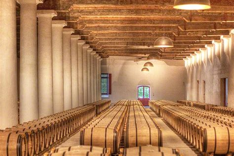 Barrell Room by Barrel Room At Chateau Margaux Wine Country Getaways