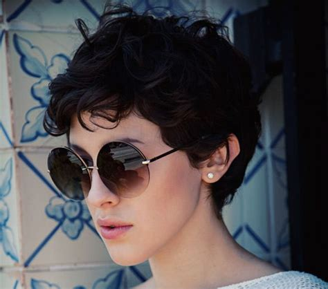 wavy thick hair with a pixie cut 19 cute wavy curly pixie cuts we love pixie haircuts