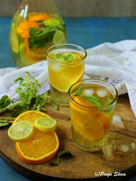 Is Green Tea A Detox Drink by Iced Green Tea Citrus Detox Drink Recipe Detox