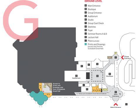 national gallery floor plan floorplan national gallery of canada