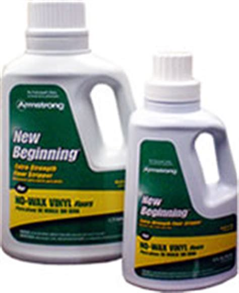 New Beginnings Floor Cleaner by The Flor Stor Armstrong Vinyl Flooring Care And