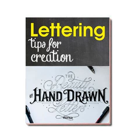 lettering tips for creation