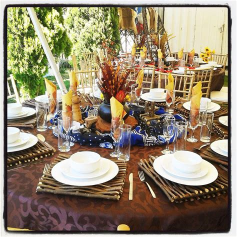 diy decorations south africa traditional wedding centerpieces and decor www